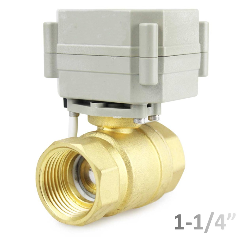 HSH Flo 1 1 4 DN32 9 36VAC DC 2 Way Motorized Ball Valve Normally Closed