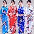 15 Cores Nova Fêmea Rayon Robe Kimono Banho Vestido de Casamento nupcial Chinese Camisola de Verão das Mulheres Tamanho S M L XL XXL XXXL 020722