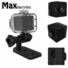 Maxinrytec SQ12 SQ11 Waterproof Mini Camera HD 1080P Video Recorder Digital Sports Camera Night Vision Wide-Angle Camcorder