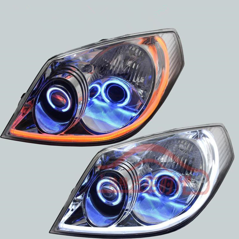 Geely MK 1,MK1,Car modified front headlight assembly geely mk cross mk cross car wheel sticker car accessories