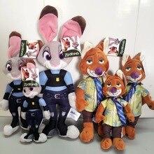 Lo nuevo 3 Tamaños Zootopia Wilde Nick Zorro de Peluche de Juguete Conejo Judy Hopps Película de Dibujos Animados Juguetes de la Muñeca de Regalo para el Cabrito niños(China (Mainland))