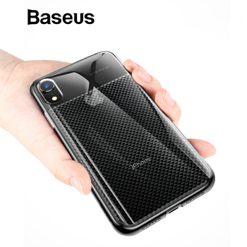 Baseus For iPhone XR Case Luxury Soft Silicone Phone Case For iPhone XR 6.1 2018 Ultra Thin Durable Armor Cases
