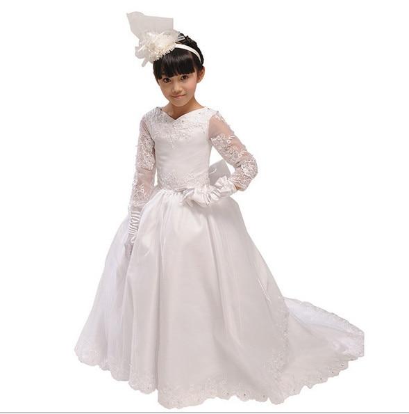 free shipping flower girl dresses for weddings elegant