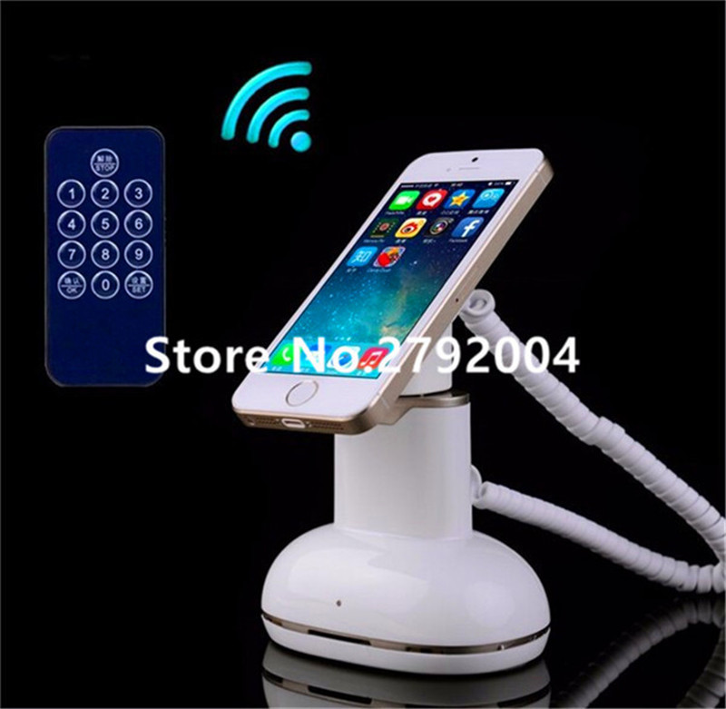 10pcs/lot hot sale Small retail shop security mobile phone holder  Smartphone Anti-theft Retail Security Display smartphone