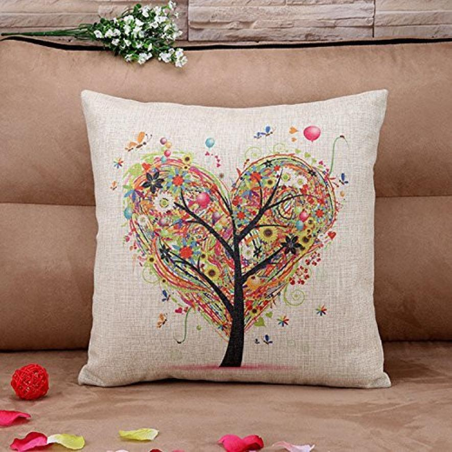 Throw Pillow Protective Covers : Super Deal 2016 pillow case vintage Cushion Throw Pillow Covers Pillowslip Case XT-in Pillow ...