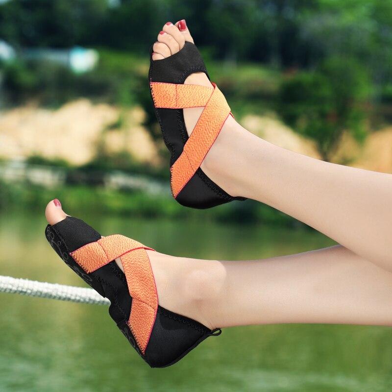 Drop shipping Women Ballet Trainers Dancing Girl Pilates Fitness Yoga Shoes Training Shoe Ladies Yoga Socks