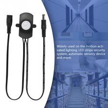 DC5V 12 в 24 В 5A PIR датчик движения переключатель Мини PIR инфракрасный ИК датчик движения Детектор переключатель модуль для светодиодной ленты светильник
