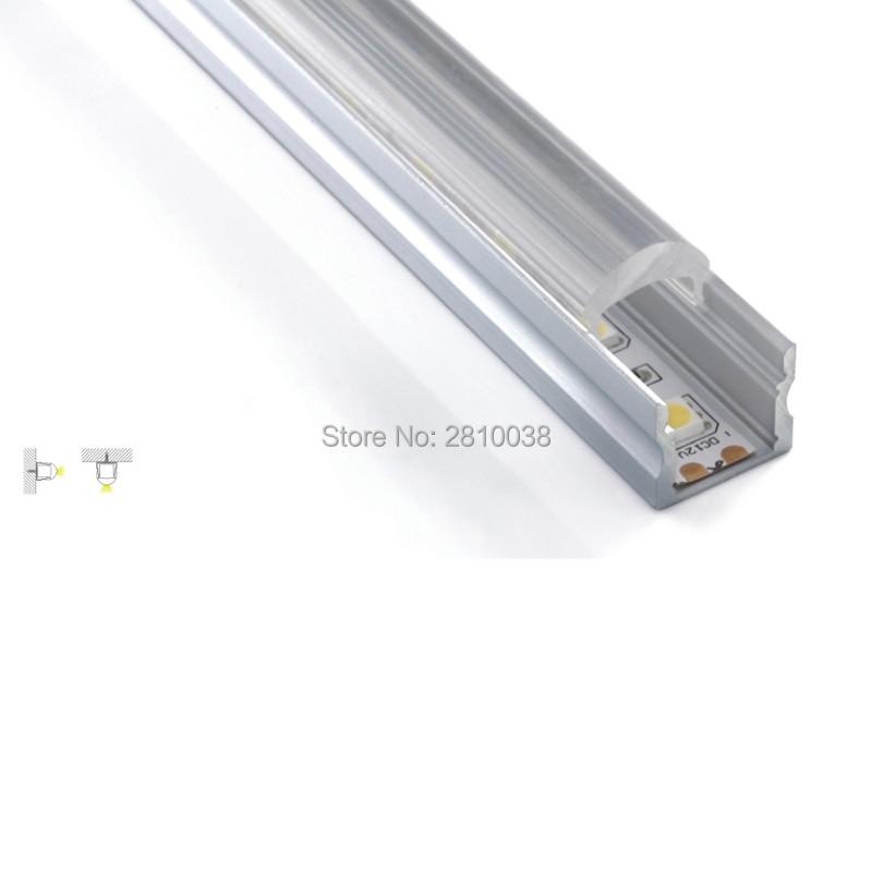 100 X 1M Sets / Lot Reka bentuk rumah membawa profil aluminium dan - Pencahayaan LED
