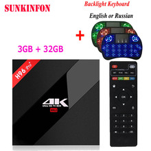 2017 NEW 3G 32G H96 Pro Amlogic S912 Octa Core Android 7 1 TV Box 2