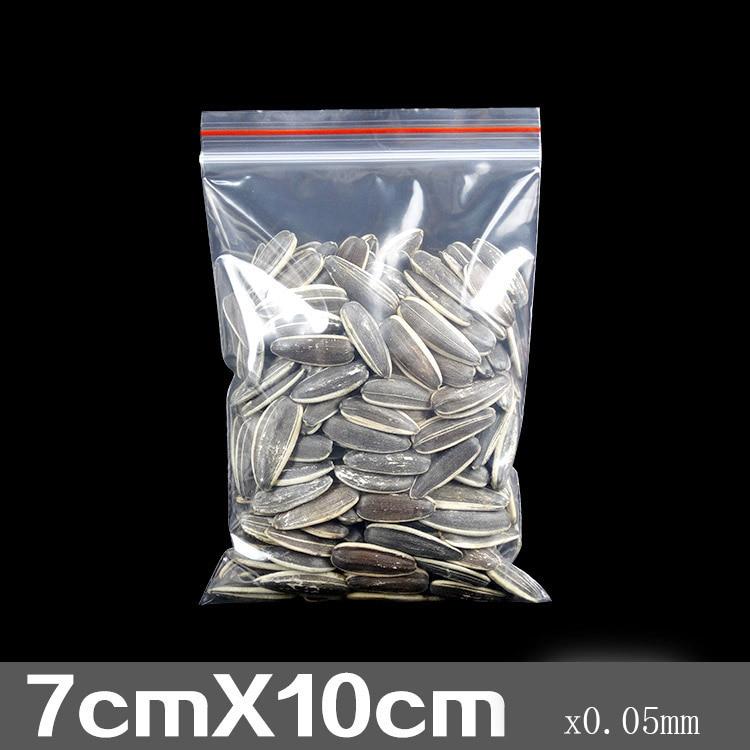 PE самоклеящиеся сумки прозрачный пластик сумки серьги, браслеты, ожерелья пакеты для упаковки аксессуары 7*10 см 0,05 мм сумка #1344