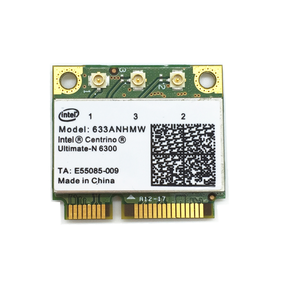 For Ultimate-N Intel 6300 633ANHMW Dual Band 450Mbp Wireless Mini Card For Dell Asus