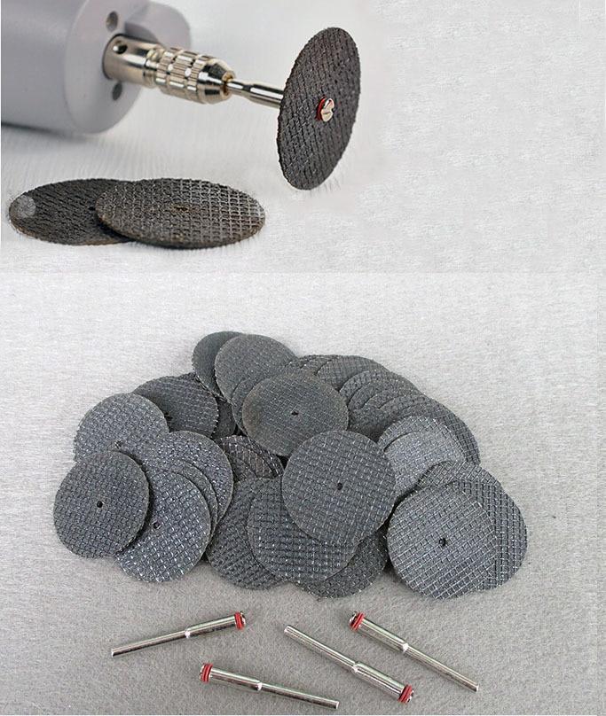 50 db üvegszálas erősítésű csiszolótárcsával levágott kerék 4 sarokkal - illeszkedjen a Dremel forgószerszámhoz