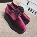 2017 winter NEW! women's Genuine Leather Flats fashion Pointed Toe fur fla