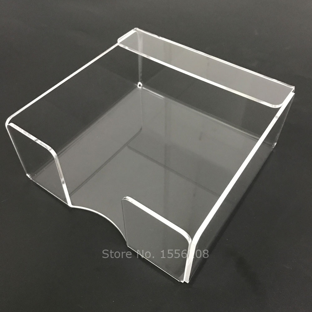 Table Clear Acrylic Napkin Holder Tissue Paper Display Dispenser