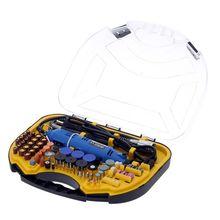 Портативный электрический сверлильный шлифовальный станок, роторный инструмент, мягкий вал, аксессуары 211 шт