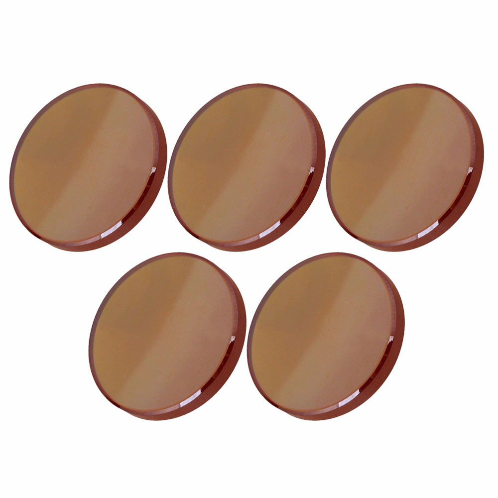 18mm 2 FL ZnSe Focal Lens Brown for CO2 Laser Engraving Focus 50.8MM, pack of 5 bosch twk 7604