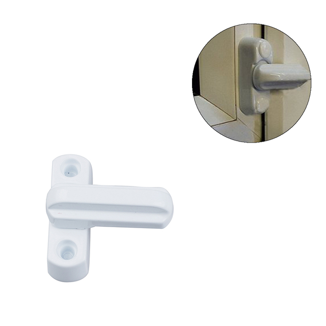 Serrure de porte fenêtre UPVC | Haute qualité, sécurité de remplacement pratique du balcon à la maison, verrouillage de la porte