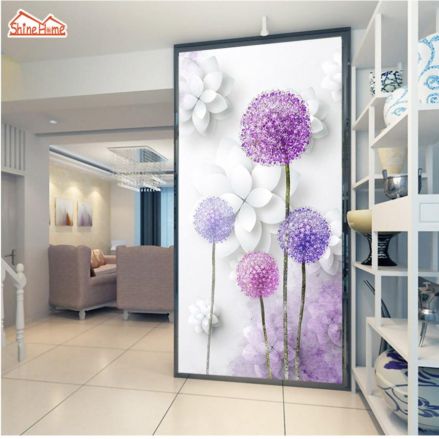 dandelion pasillo puerta d rollos de papel pintado para paredes d saln