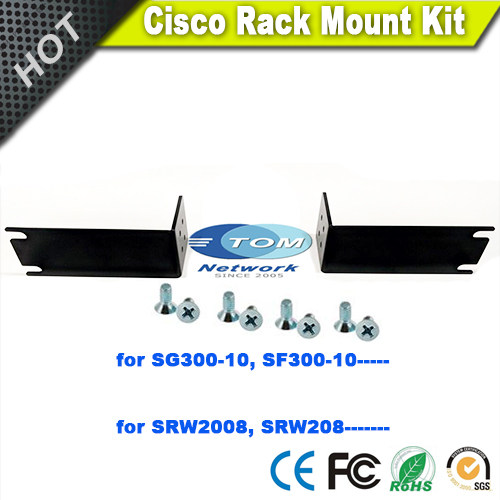 A set New ACS 1100 RM 19(=) rackmount kits for Cisco ISR