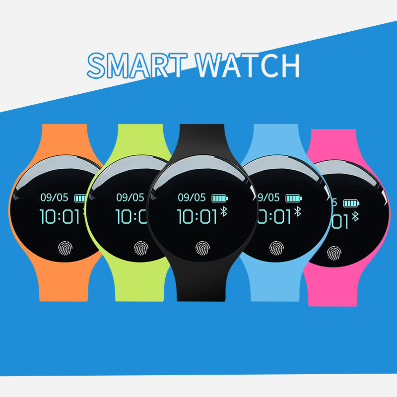 Bluetooth Smart Watch for IOS Android Men Women Sport Intelligent Pedometer Fitness Bracelet Watches for iPhone Clock fashion in Smart Watches from Consumer Electronics