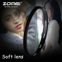 ZOMEi Portrait Filter 67mm Gentle Diffuser Impact Focus 72mm Filter Lens For Nikon Canon Sony Digicam Lens