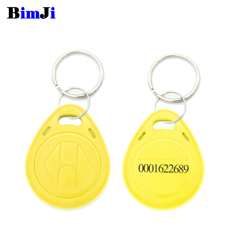 Image 5 - 100pcs Rfid Tag 125Khz TK4100 EM4100 Proximity RFID Card Keyfobs Access Control Smart Card 10 Colors Free Shipping-in IC/ID Card from Security & Protection