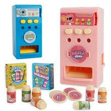 Cash Register Automatic Drink Vending Machine Child Play Hou