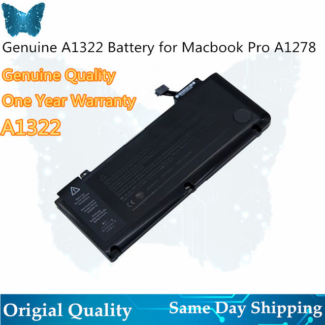 "A1322 battery For MacBook Pro 13 "" Unibody A1278 Battery MC700 MC374 Mid 2009 2010 2011 2012"