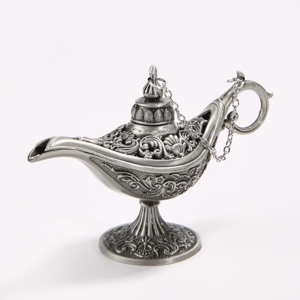 Tea-Pot Genie-Lamp Retro-Toy Fairy-Tale Home-Decor Vintage Traditional for Hollow-Out