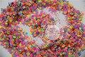 Смешать Неоновые Цвета Растворителям ШЕСТИГРАННОЙ Формы Блеск Блестки, Блестки для украшения искусства ногтя 1 pack = 50 г