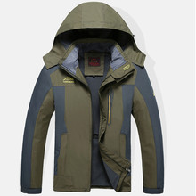 Original Men Jackets Outdoor Windbreaker Camping Hiking Coats Jaqueta For Men Spring Fall Fishing Jacket Waterproof Windproof