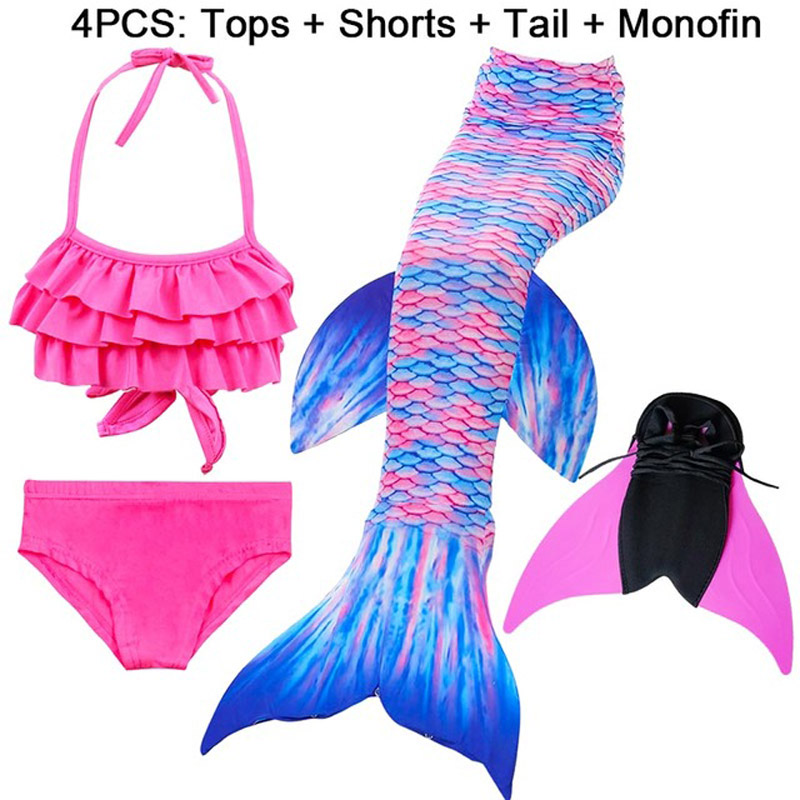14-Colors-Girls-Swimming-Mermaid-Tail-with-Monofin-Bathing-Suit-Children-Ariel-the-Little-Mermaid-Tail.jpg_640x640 (3)