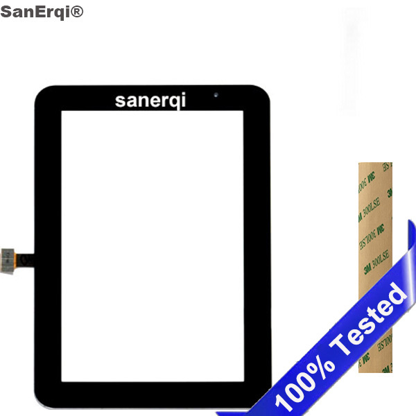 SanErqi New  For Samsung Galaxy Tab 2 7.0 P3100 Tab2 GT-P3100 Tablet Touch Panel Digitizer Glass Touch Screen