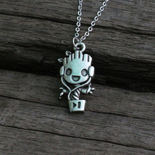 Best Marvel Baby Groot Necklace Cheap
