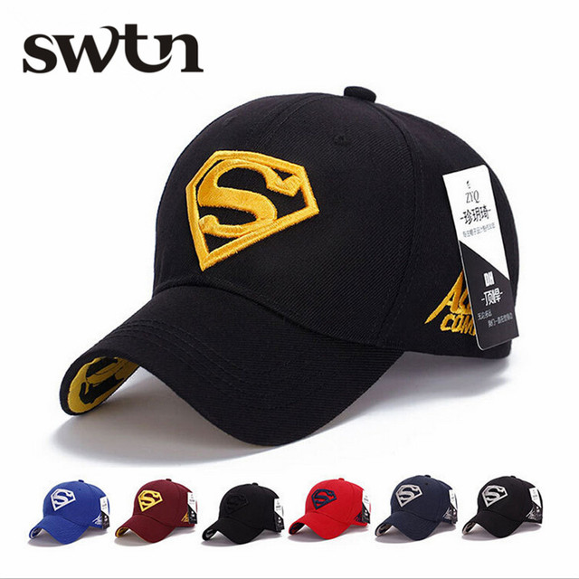 2017 NEW Brand SUPERMAN Polo Snapback Mens Baseball Caps Women Fitted  Adjustable Hat Gorras Planas Casquette Chapeau Homme c90c242ddab