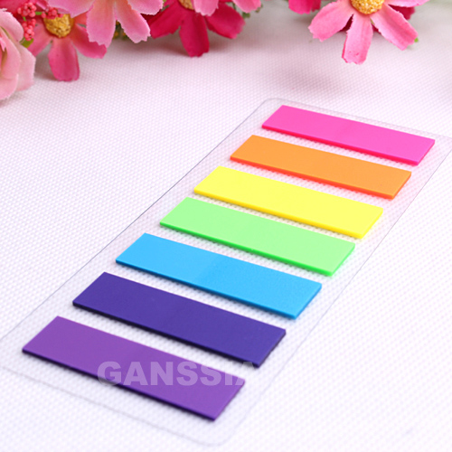1PC Fluorescence Color Memo Pad Sticky Notes Stationery Book Marker Index Office Memos School Kids Supplies (ss-1478)
