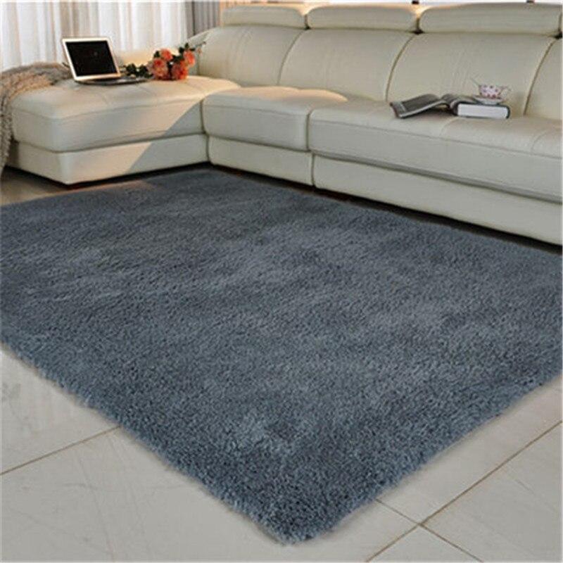Hotest 120X160 CM Long Plush Slip-Resistant Soft Mat For Room Modern Large Shaggy Thicken Carpet Kids Carpets Rug Living Room