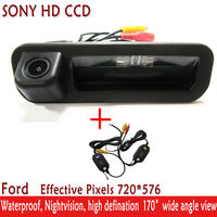 WIFI camera 170'' Wide view Angle Car Accessories SONY HD CCD Car Rear View Reverse hanldle Camera for FORD Focus Mondeo Kuga