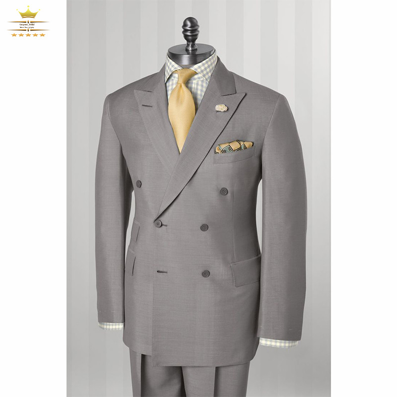 breasted grooms suits custom made wedding