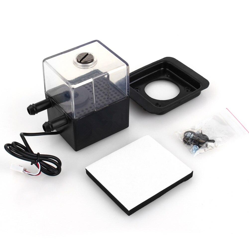 SC-300T 12 V DC Ultra-silencieux Pompe À Eau et Pompe Réservoir Pour PC CPU Liquide De Refroidissement Ordinateur Système