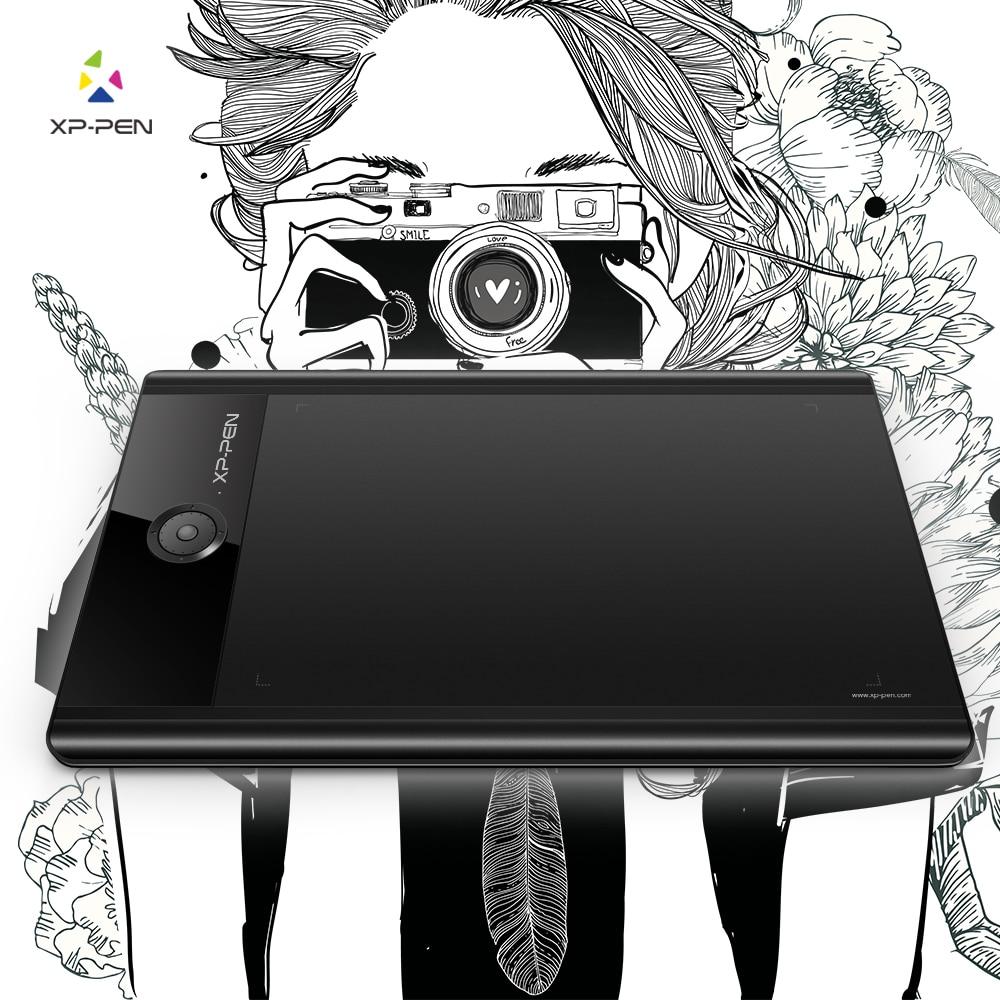 XP-Stylo Star04 Passive Stylet 9x6 Tablette graphique/Dessin Tablet avec 8 Touches Express & 8 GB Construire-dans la Mémoire Flash