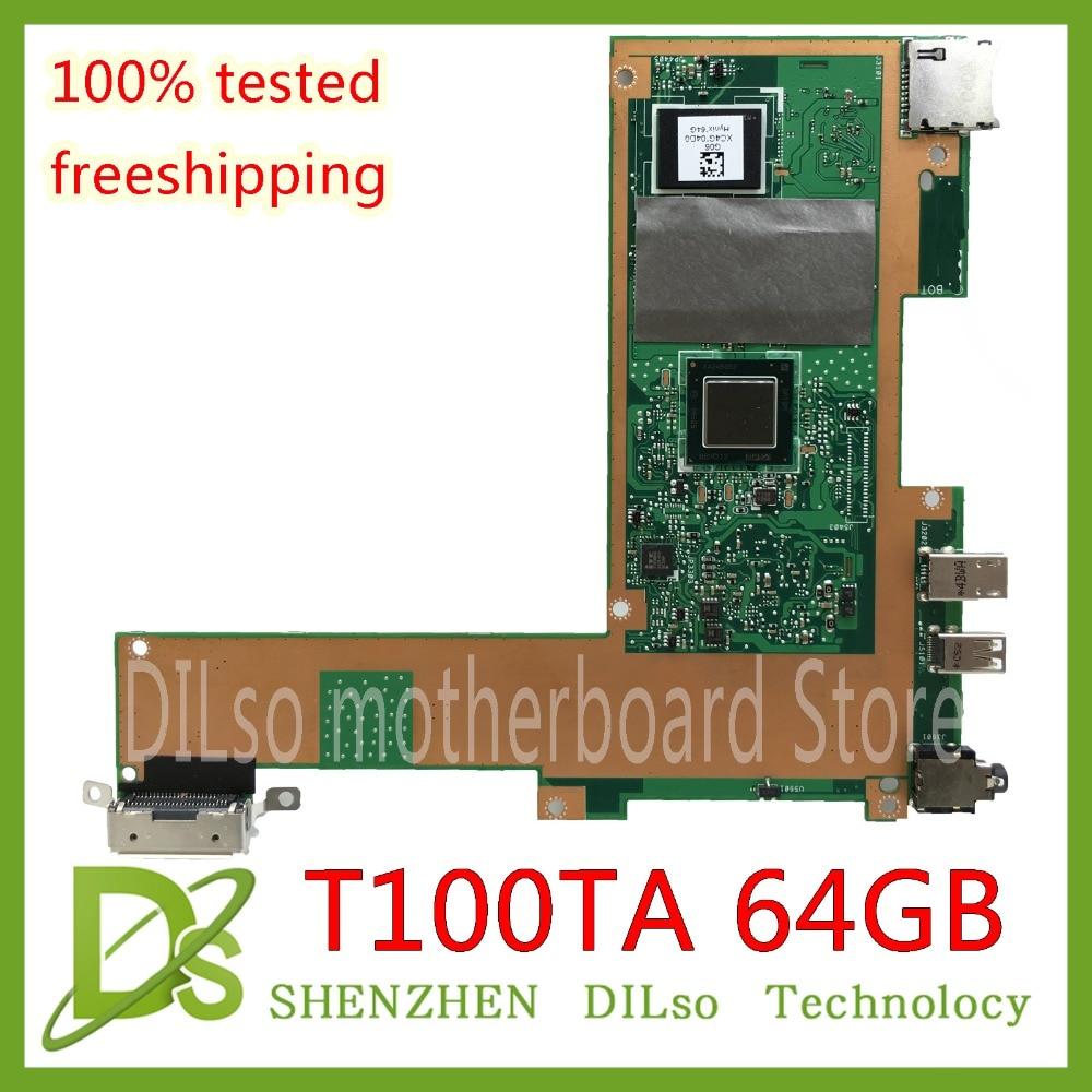 цена на KEFU T100TA For ASUS T100TA 65G SSD laptop motherboard REV2.0 Test work 100% original