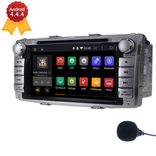 Free Shipping 2 Din Android 4.4.4 Quad Core Car DVD Player GPS Navigation For Toyota Hilux 2012 2013 2014 Radio RDS USB BT