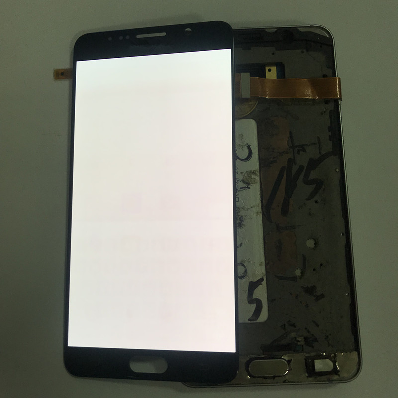 100% Testé AMOLED Brûler Ombre lcd pour Samsung Note 5 N920F écran lcd pour Samsung Note 5 N920F écran lcd Tactile Digitizer