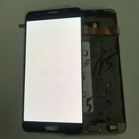 100% Tested AMOLED Burn Shado LCD For SAMSUNG Note 5 N920F LCD Display for Samsung Note 5 N920F LCD Screen Touch Digitizer