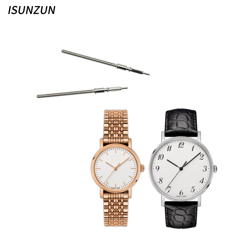 ISUNZUN Tissot T109 Watch Accessory Original Quality Stainless Steel Watch Crowns Watch Stems for Watch Repair Tool Kit Repair in Watch Faces from Watches