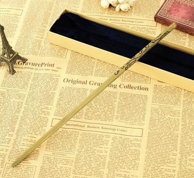 Новое качество deluxe metal core COS Luna Лавгуд Волшебная палочка Гарри Поттер Волшебная палочки с упаковка подарочная коробка