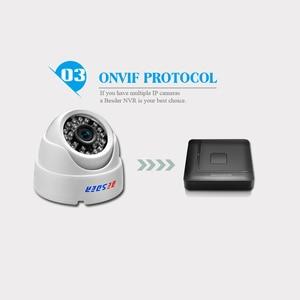 Image 3 - BESDER ONVIF 2.8mm szeroki aparat IP 1080P 960P 720P P2P RTSP wykrywanie ruchu e mail Alert XMEye DC12V POE48V wewnętrzne kamery CCTV