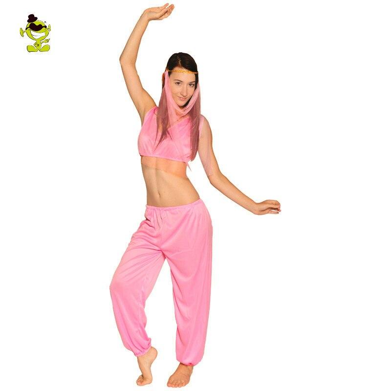 Sexy Arabian Princess Costume Vintage Arab Dubai Women's Summer Dress Carnival Halloween Belly Dance Party