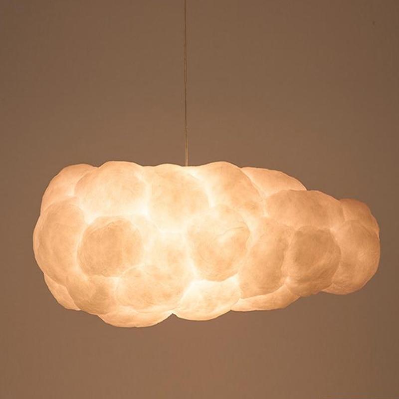 Modern White Clouds Pendant Light Led